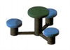 Image of 3 Disc Seat and table
